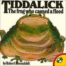 Tiddalick - The Frog Who Caused a Flood - Robert Roennfeldt - Aboriginal Legend