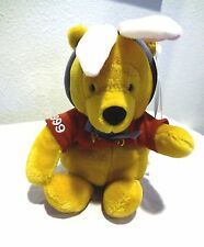 Rare Disney Pooh Beanie Bean Bag -  1999 EASTER BUNNY POOH