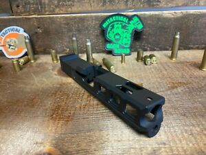 Raptor Series Slide for Glock 19 with RMR Serrations & Windows Ports Gen 3 Black