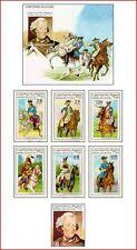 SAH97022 Uniforms 7 stamps and block MNH SAHARA 1997