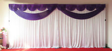 Purple Butterfly Wedding Backdrop Curtain