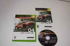Colin McRae Rally 04 Microsoft Xbox Video Game Complete
