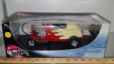 1/18 HOT WHEELS 1932 FORD RED & CREAM with REMOVABLE BLACK TOP yd