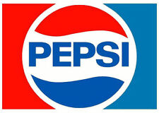 "Soda Machine Dispenser Stickers - Vinyl Stickers 3.5"" x 2.5"" Pepsi -GoGoStickers"