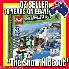 "21120 * LEGO MINECRAFT ""The Snow Hideout"" Mine Craft RARE LIMITED * NEW RELEASE!"