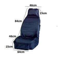 Actualización de asiento de coche tapicería azul durable cubierta de asiento delantero de mejor calidad