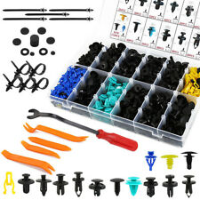 585pcs Car Plastic Push Pins Fastener Clips Rivet Retainer Auto Trim Panel Tools