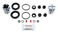 for HONDA S2000 1999-2015 REAR Brake Caliper Repair Kit  and Pistons (BRKP181)