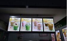 63 in Menu Billboard M63 advertising Light board led opening sign Boba Cafe