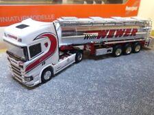 1/87 Herpa Scania CR HD Chromtank-Sattelzug Willi Wewer 308427