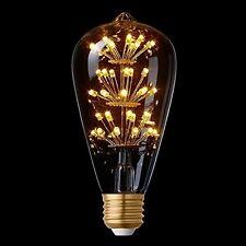 Splink Edison LED Bulb Vintage Satr Design E27 2W 2200k Warm White Romantic LED