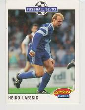 Panini Fussball 92-93 Action Cards #220 Heiko Laessig Bayer 05 Uerdingen