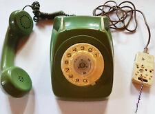 RARE VINTAGE 1960s ROTARY TELEPHONE Australia Telecom Fern Green S1/233