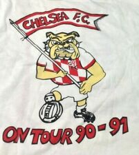 Chelsea FC On Tour vintage 1990s T SHIRT Screen Stars Extra Large single stitch