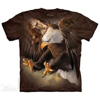 Freedom Eagle T-Shirt by The Mountain. Birds Sizes S-5XL NEW