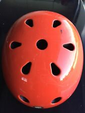 Orange Mongoose Skateboarding Biking Helmet Youth Unisex Mg121 rare color