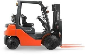Toyota Forklift Service Manuals 5,6,7 & 8 series on Flash Drive