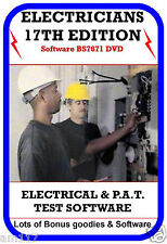 Best Ever Electrical Test Software 17th Edt + BONUS LOT Pat test  3rd Amendment