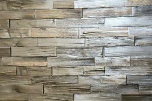 Spaltholzriemchen 3D Wandverkleidung Holzverblender Spaltholz Verblender Paneele