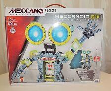 MECCANOID G15 PERSONAL ROBOT MECCANO TECH