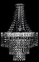 Modern 3 Tier Chandelier Shade Acrylic Crystal Ceiling Pendant Light Shade New