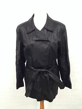 Womens Vintage St Michael Leather Coat - Uk14 - Great Condition