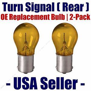 Rear Turn Signal Light Bulb 2pk - Fits Listed Isuzu Vehicles 1156A