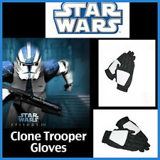 Star Wars Clone Trooper Child Gloves Boys Halloween Costume Fancy Dress Gauntlet