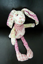 42/ DOUDOU GERCA TI BOOM COLLECTION  LAPIN LONGUES PATTES  - ETAT NEUF !