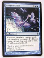 MTG Magic: the Gathering Cards: HALCYON GLAZE: RAV