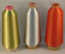 Fil metalique pour broderie couture tapisserie, broderie machine, broderie main
