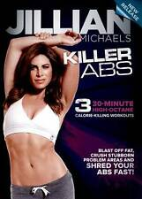 Jillian Michaels Killer Abs DVD Exercise Work-Out NEW & Sealed