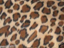 NEW POLAR fleece ANIMAL CHEETAH print fabric by the yard BTY  free shipping
