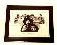 Boxing Manny Pacquiao Limited Edition of 250 By Patrick J. Killian