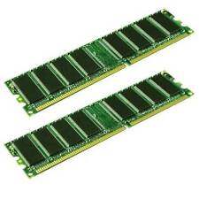1GB COPPIA DI KINGSTON KVR400X64C3A/512 PC3200 400MHz CL3 184-Pin