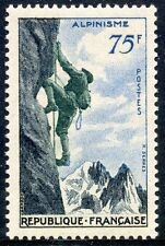 TIMBRE FRANCE NEUF N° 1075 * SPORT ALPINISME / COTE 9,50 € / NEUF CHARNIERE