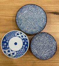 2 pieces Japanese Ceramic Sushi dish dining Plates Tableware Brand New
