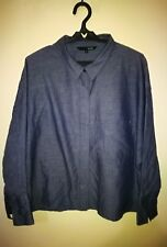 MIXXO CROPPED CUT ELBOW SLEEVE SHIRT TAG SIZE L