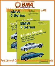 NEW E39 5 Series BMW Bentley Repair Manual 97-2003 - 2 VOLUME SET B503