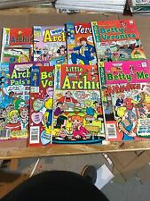 Archie Mixed comic lot Of 8