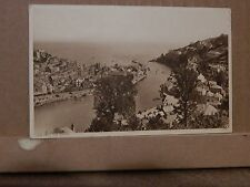 Postcard Looe Cornwall from the Downs  unposted  RA1