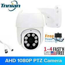 HD 1080P AHD Speed Dome PTZ Camera CCTV IR Night Vision Surveillance Coaxial