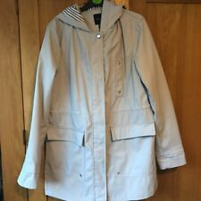 New Look Grey Raincoat 10 Petit