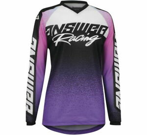 New 2022 Answer Racing YOUTH A22 Syncron Prism MX/ATV Jersey - All Colors&Sizes