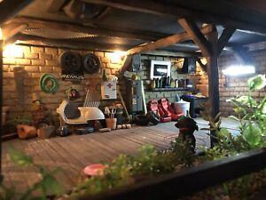 Diorama Garage 1:18