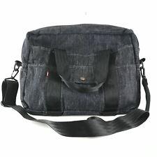 Levi's Denim Messenger Laptop Bag Red Tab Pack Pocket