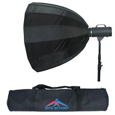 "35"" Parabolic Softbox Photo Studio Diffuser for Photography Light Flash DSLR SLR"
