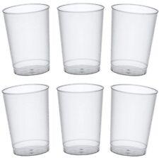 50 Trinkbecher Plastik Mehrwegbecher Einwegbecher Hartplastik Cocktail Becher