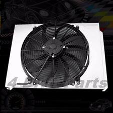"""KKS ALUMINUM RADIATOR FAN SHROUD 16"""" SPEED FAN 49-54 CHEVY Styleline Deluxe V8"""