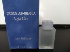 Miniature de parfum dolce Gabbana light blue eau intense 4,5 ml rare femme
